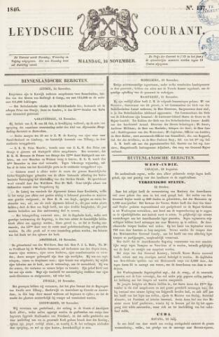 Leydse Courant 1846-11-16