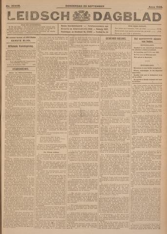 Leidsch Dagblad 1926-09-23