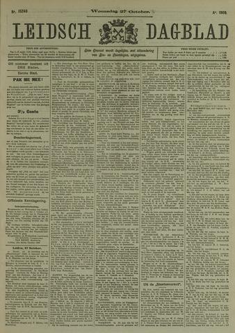 Leidsch Dagblad 1909-10-27