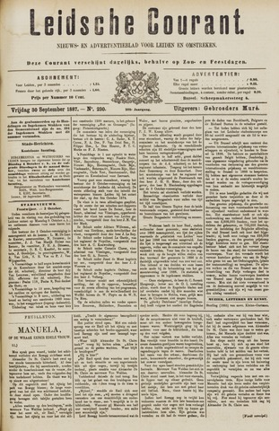 Leydse Courant 1887-09-30