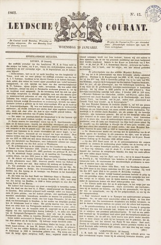 Leydse Courant 1862-01-29