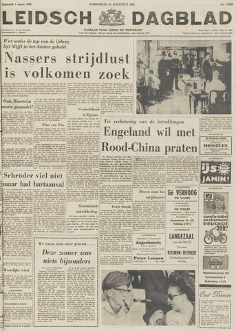 Leidsch Dagblad 1967-08-31