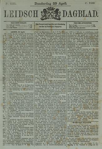 Leidsch Dagblad 1880-04-29