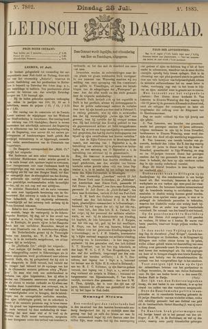 Leidsch Dagblad 1885-07-28