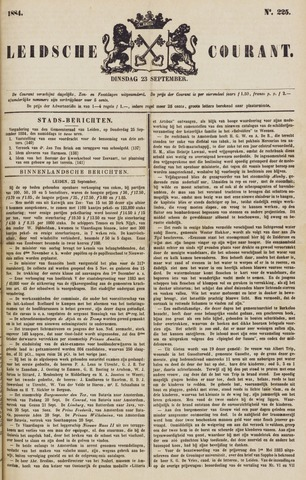 Leydse Courant 1884-09-23