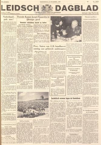 Leidsch Dagblad 1949-12-22