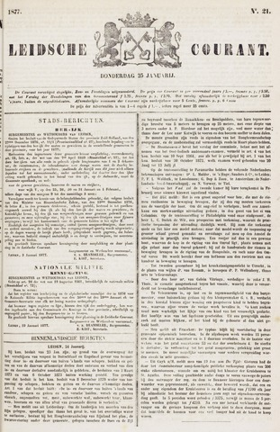 Leydse Courant 1877-01-25