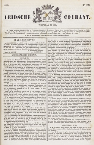 Leydse Courant 1877-05-30