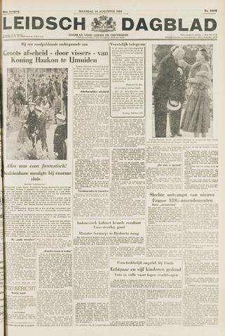 Leidsch Dagblad 1954-08-16