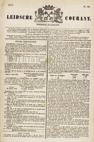 Leydse Courant 1873-01-15