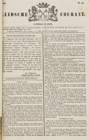 Leydse Courant 1885-04-25