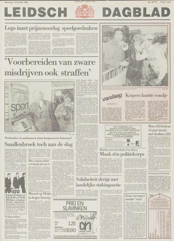 Leidsch Dagblad 1988-11-07
