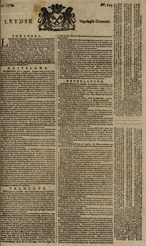 Leydse Courant 1779-08-27
