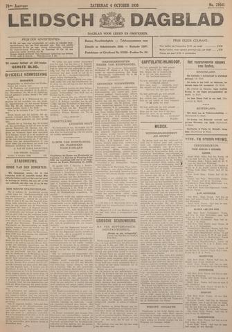 Leidsch Dagblad 1930-10-04
