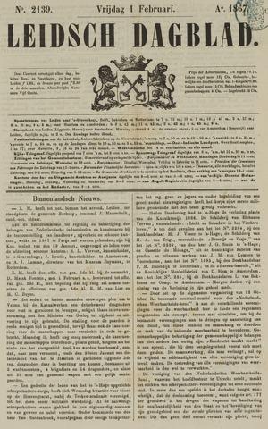 Leidsch Dagblad 1867-02-01