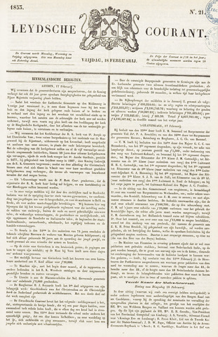 Leydse Courant 1853-02-18