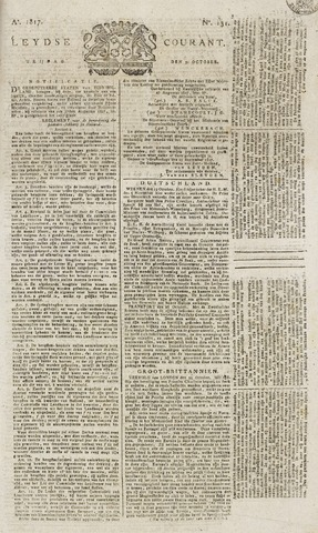 Leydse Courant 1817-10-31