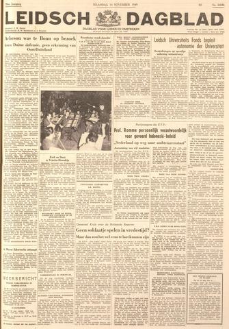 Leidsch Dagblad 1949-11-14