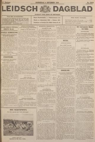 Leidsch Dagblad 1930-09-04