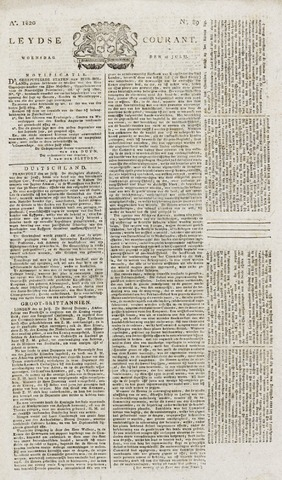 Leydse Courant 1820-07-26