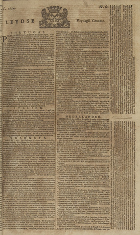 Leydse Courant 1754-05-24