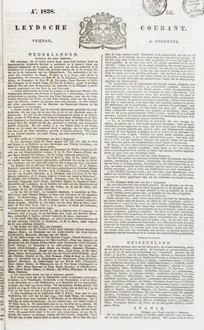 Leydse Courant 1838-08-10