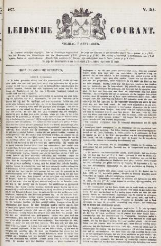 Leydse Courant 1877-09-07