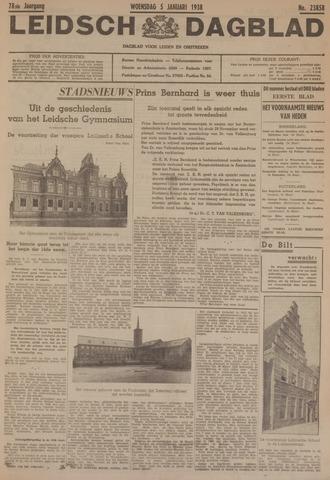 Leidsch Dagblad 1938-01-05