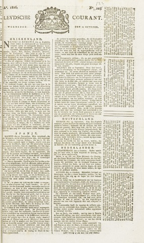 Leydse Courant 1826-10-11