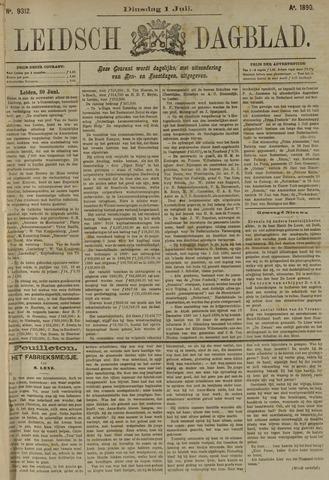 Leidsch Dagblad 1890-07-01