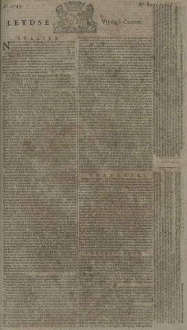 Leydse Courant 1743-07-05