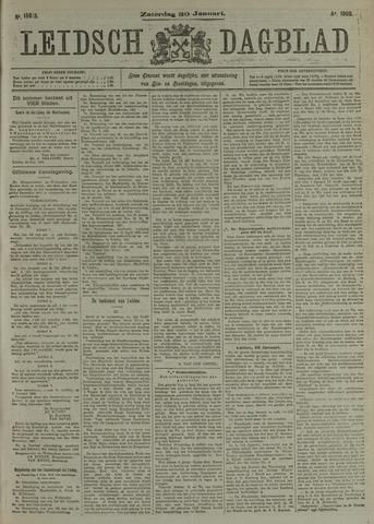 Leidsch Dagblad 1909-01-30