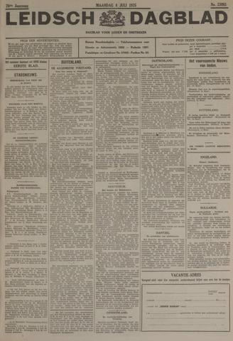 Leidsch Dagblad 1935-07-08