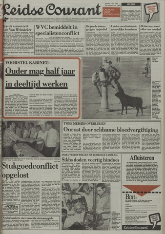 Leidse Courant 1987-07-07