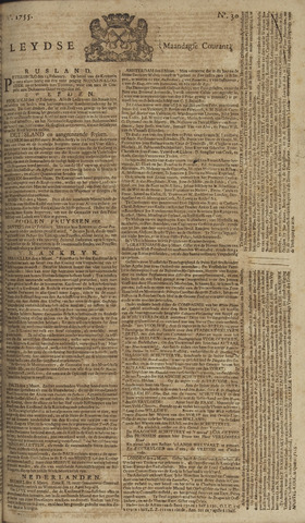 Leydse Courant 1755-03-10
