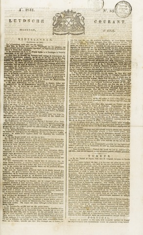 Leydse Courant 1841-07-26
