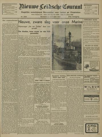 Nieuwe Leidsche Courant 1939-10-02