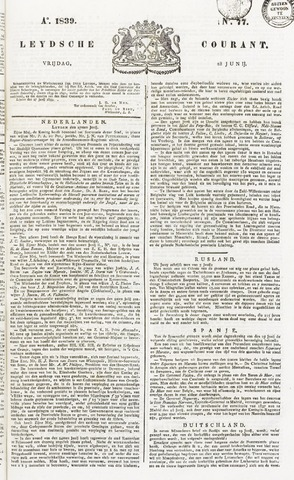 Leydse Courant 1839-06-28