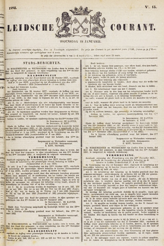 Leydse Courant 1882-01-18