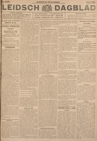 Leidsch Dagblad 1926-11-25