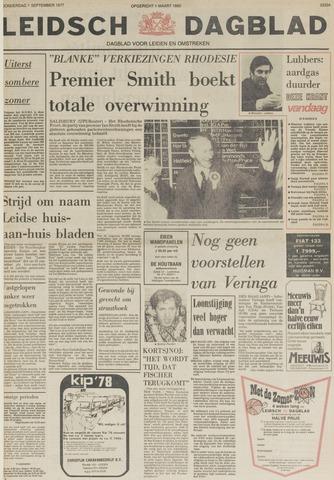 Leidsch Dagblad 1977-09-01