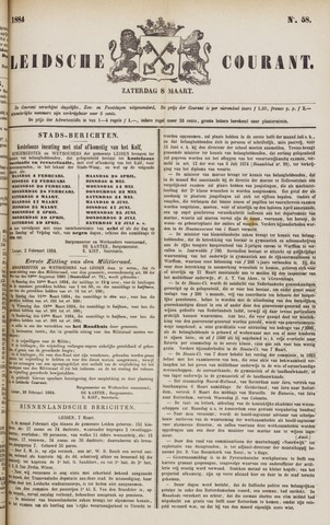 Leydse Courant 1884-03-08
