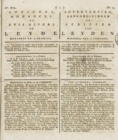 Leydse Courant 1812-02-12