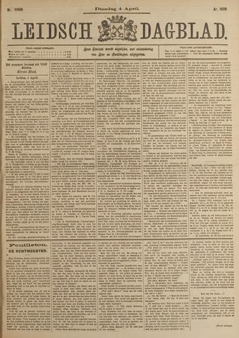 Leidsch Dagblad 1899-04-04