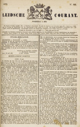 Leydse Courant 1872-05-01