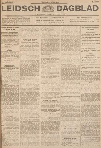 Leidsch Dagblad 1928-04-27