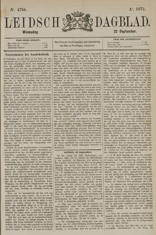 Leidsch Dagblad 1875-09-22