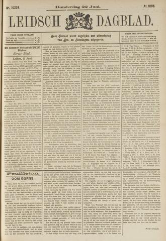 Leidsch Dagblad 1893-06-22