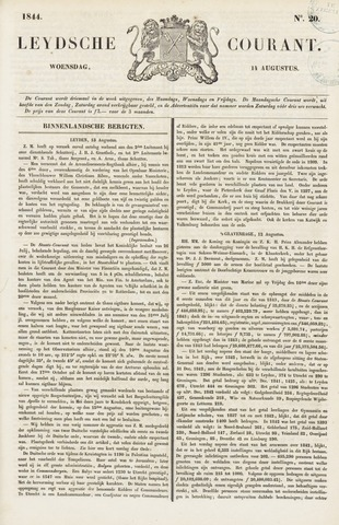 Leydse Courant 1844-08-14