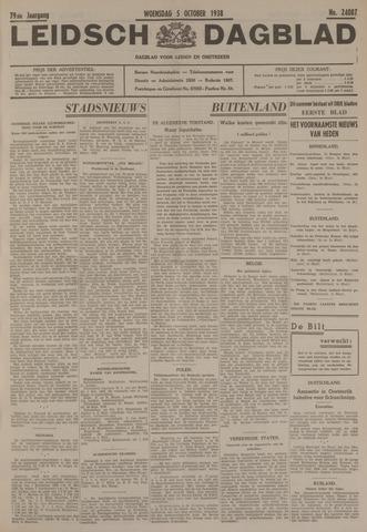 Leidsch Dagblad 1938-10-05